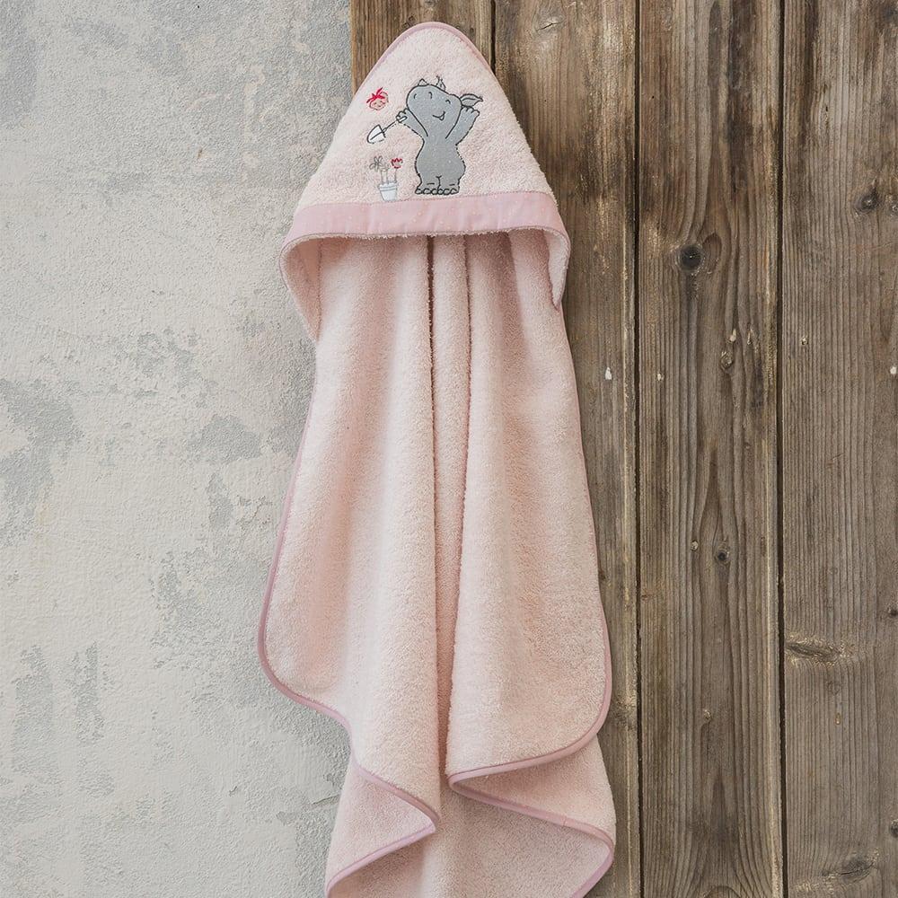 Κάπα Βρεφική Little Rhino Pink Nima 0-2 ετών