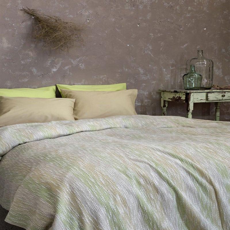 Κουβέρτα Calida Olive Nima Υπέρδιπλo