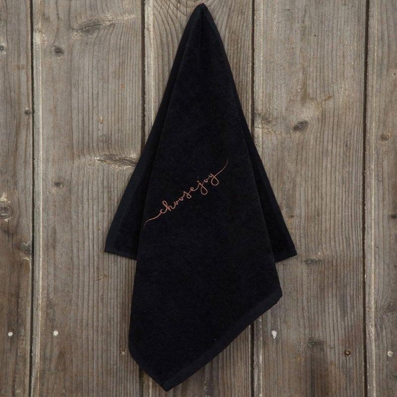 Λαβέτα Choose Joy Black Nima Χεριών 40x40cm