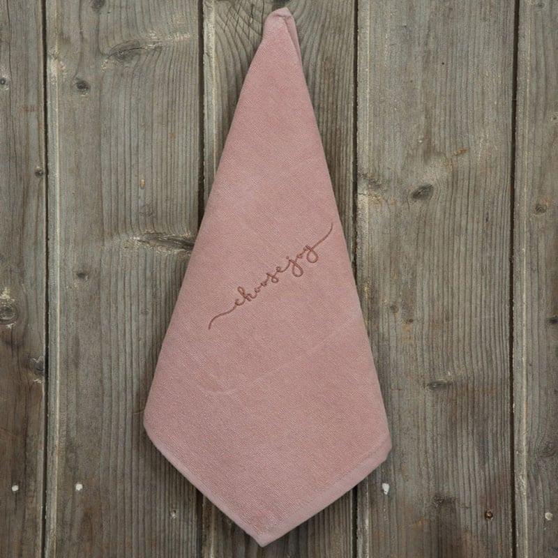 Λαβέτα Choose Joy Pink Nima Χεριών 40x40cm