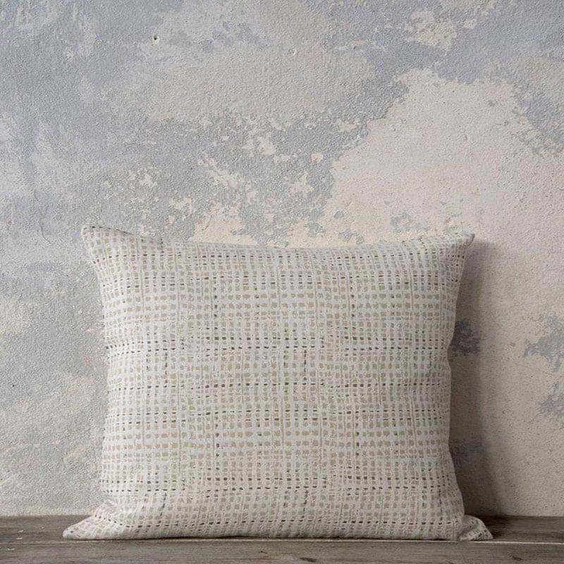 Μαξιλάρι Διακοσμητικό (Με Γέμιση) Madum Beige Nima 45X45 Βαμβάκι-Polyester