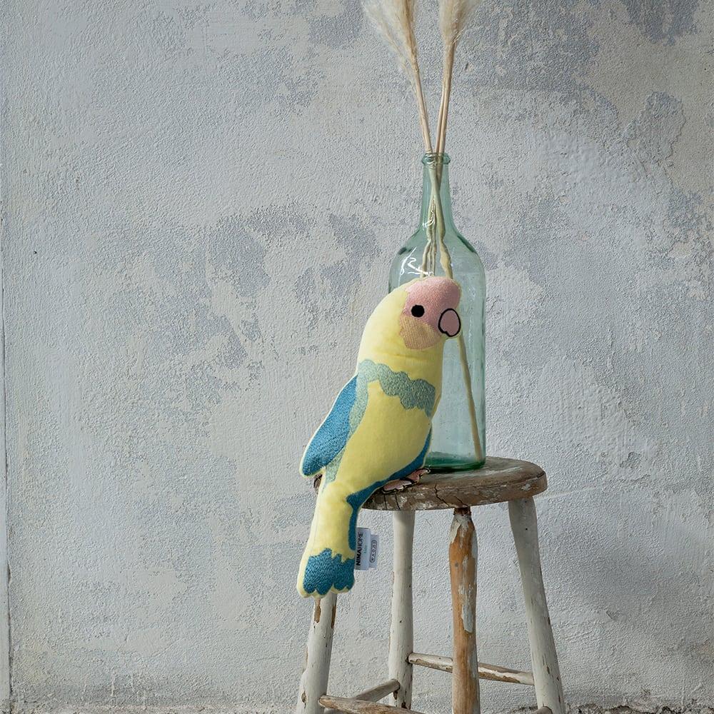 Μαξιλάρι Διακοσμητικό (Με Γέμση) Παιδικό Affe Yellow-Blue Nima 40Χ40