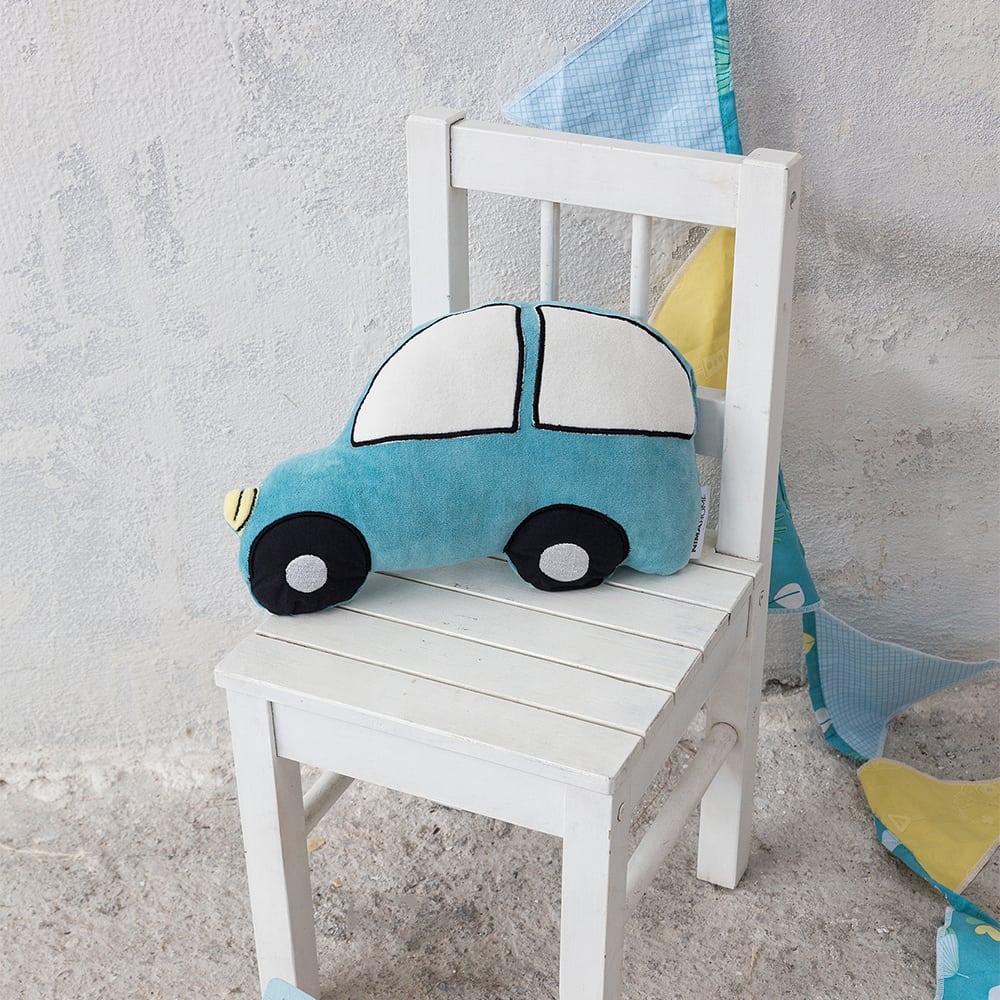 Μαξιλάρι Διακοσμητικό (Με Γέμση) Παιδικό TouTou Blue Nima 30X30