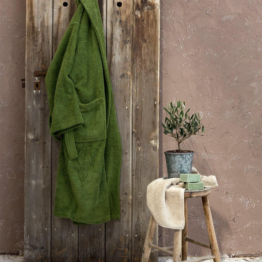 Μπουρνούζι Asana Dark Green Nima Medium