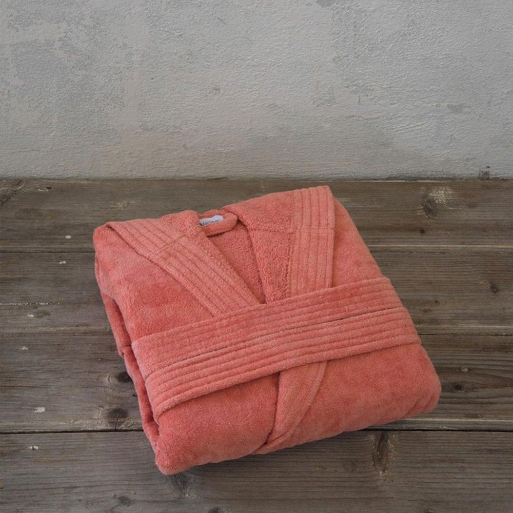 Μπουρνούζι Zen Με Κουκούλα Coral Nima Medium
