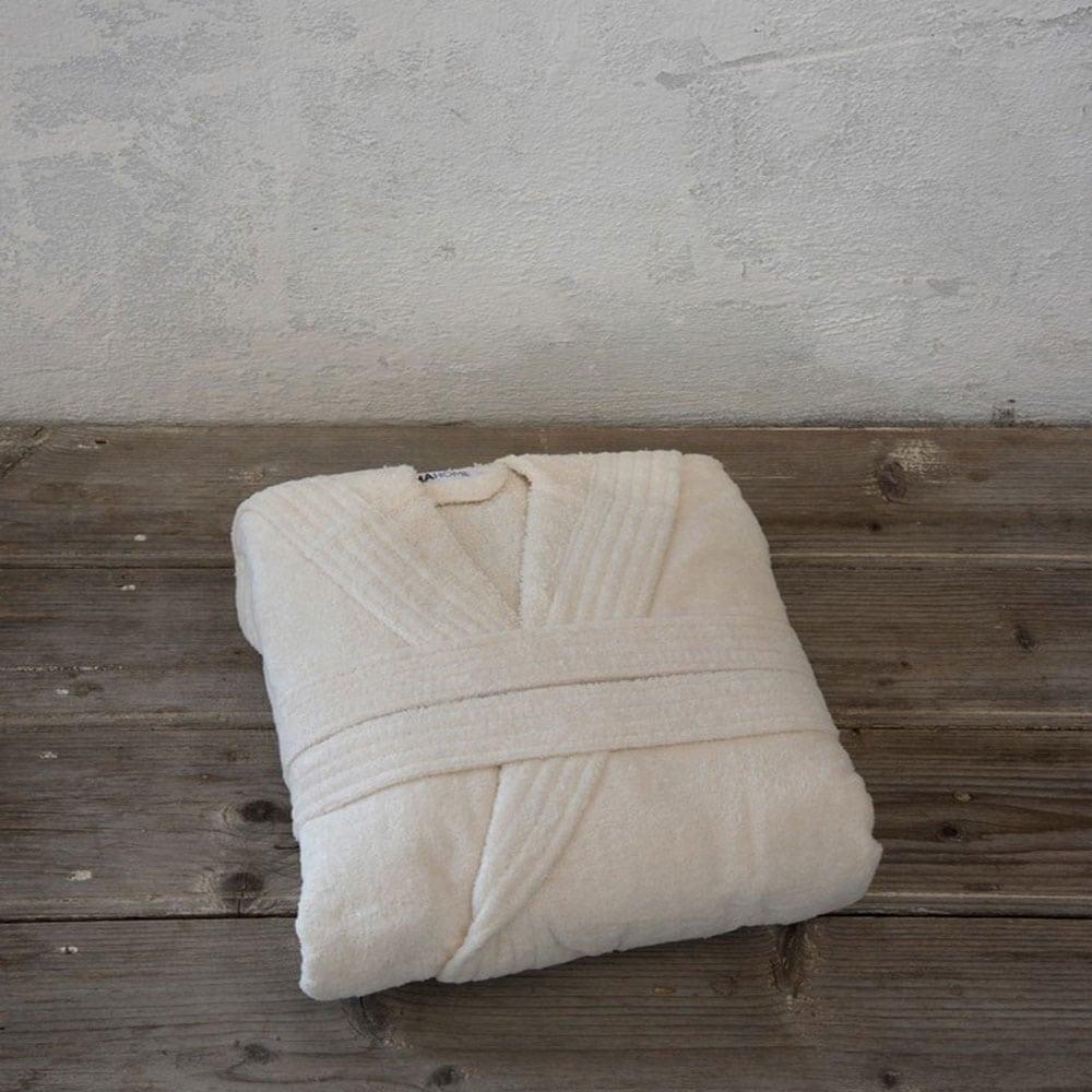 Μπουρνούζι Zen Με Κουκούλα Light Beige Nima Small