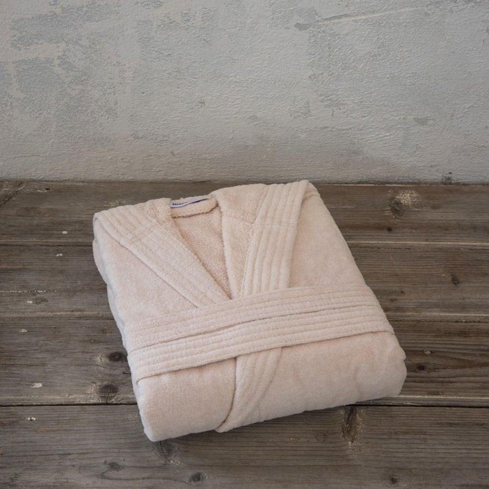 Μπουρνούζι Zen Με Κουκούλα Light Pink Nima Small