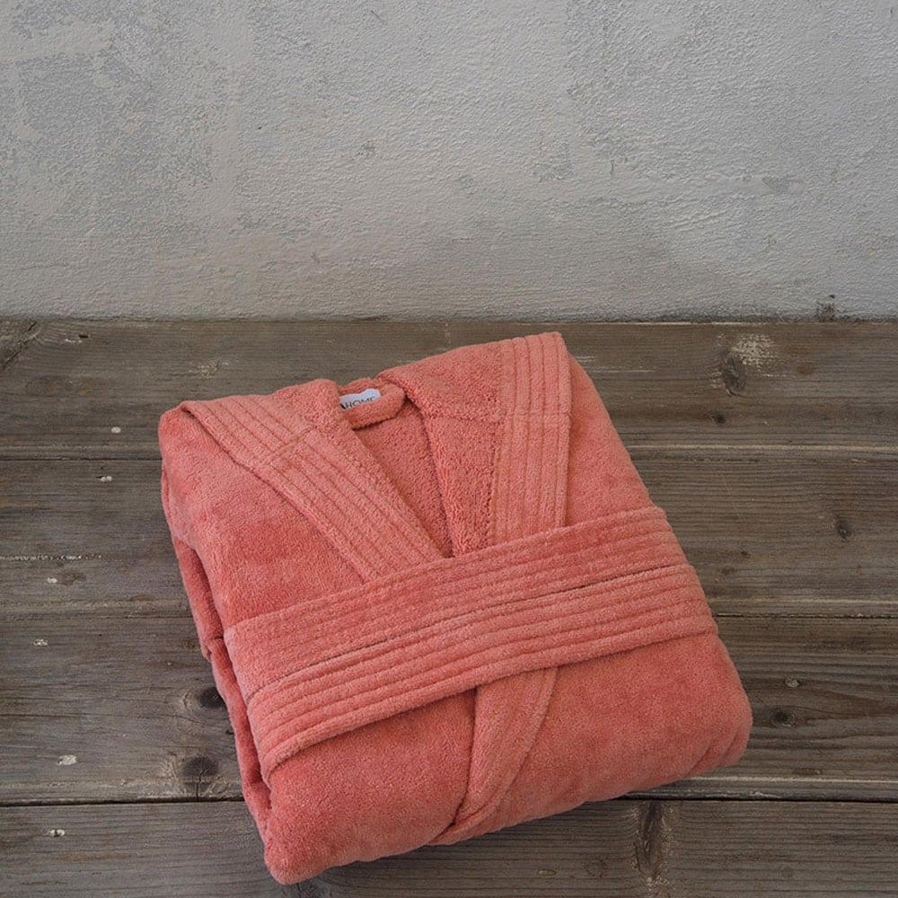 Μπουρνούζι Zen Με Κουκούλα Σε Κουτί Coral Nima Large L