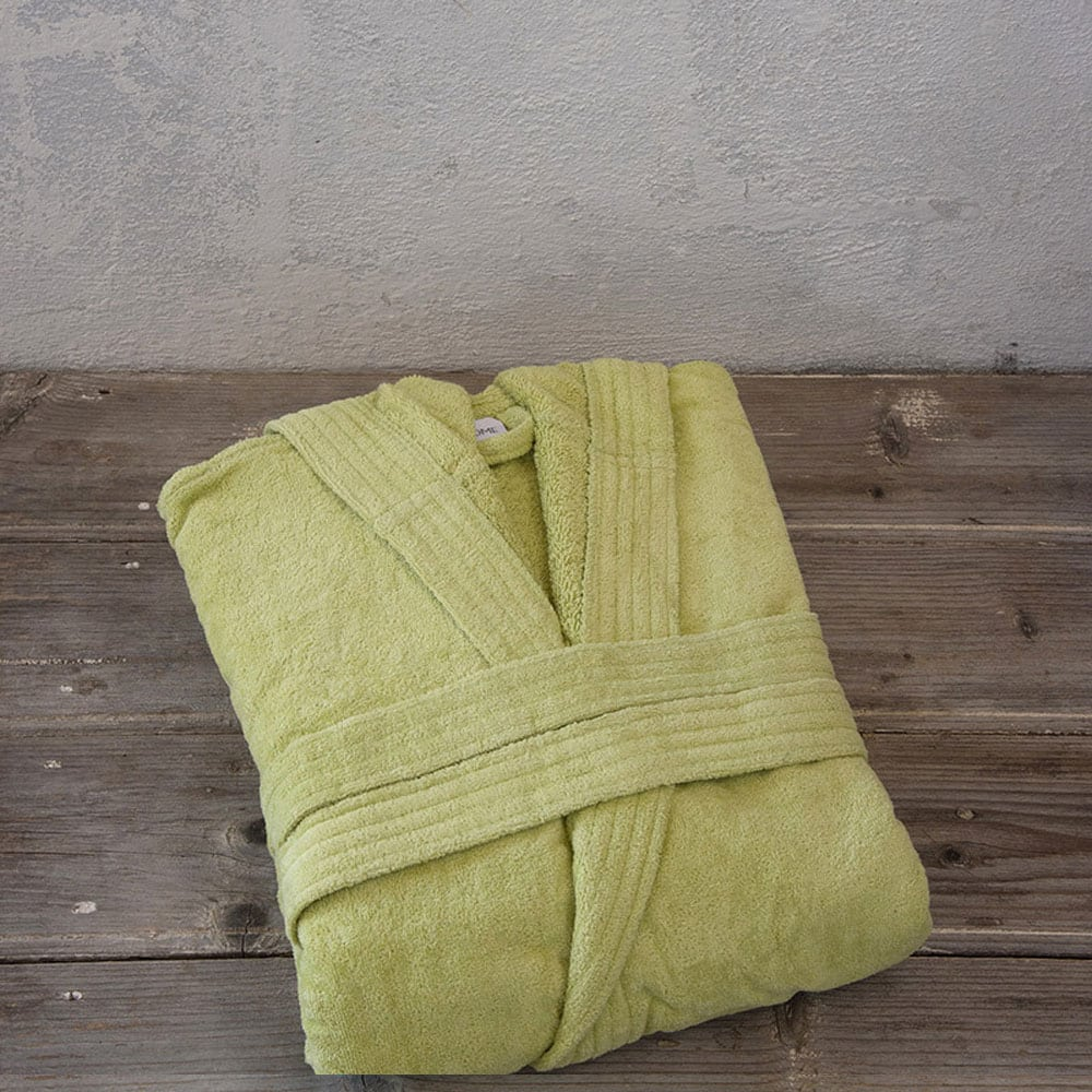 Μπουρνούζι Zen Με Κουκούλα Σε Κουτί Green Nima Medium M