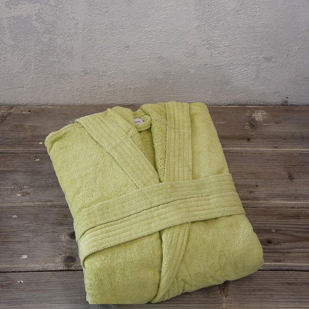 Μπουρνούζι Zen Με Κουκούλα Σε Κουτί Green Nima Large L