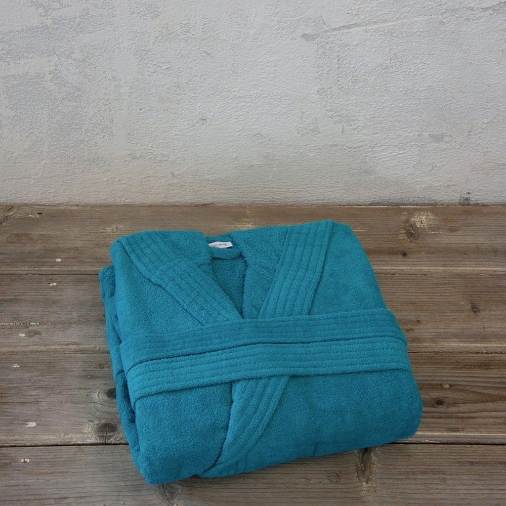Μπουρνούζι Zen Με Κουκούλα Σε Κουτί Blue Nima XX-Large XXL