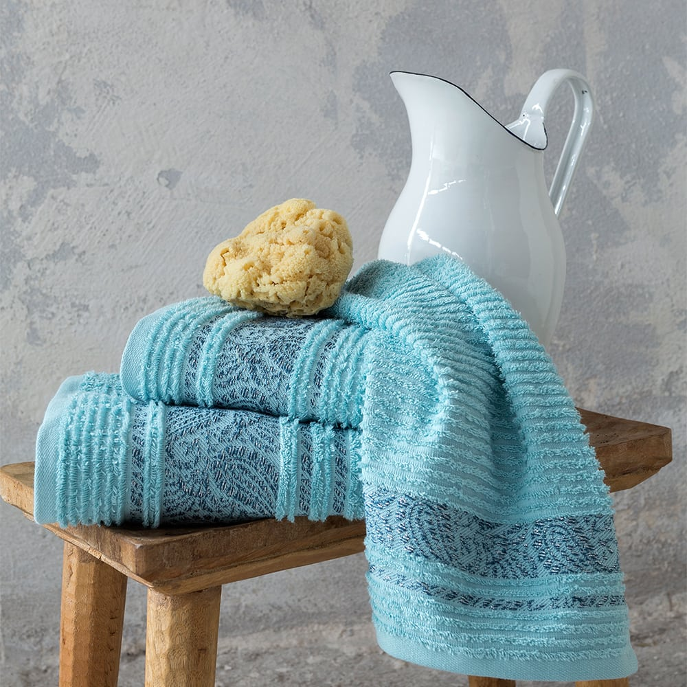 Πετσέτα Aishun Blue Nima Χεριών 30x50cm