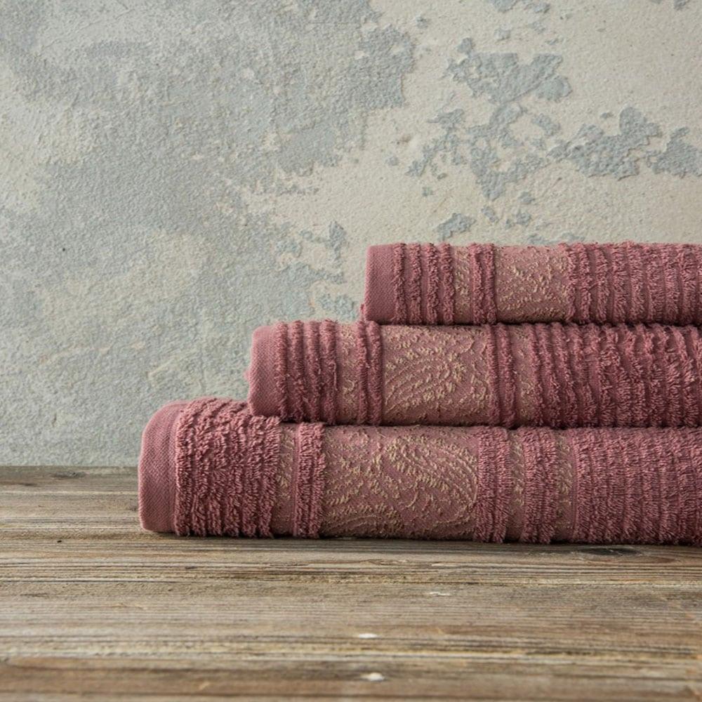 Πετσέτα Aishun Terracotta Nima Χεριών 30x50cm
