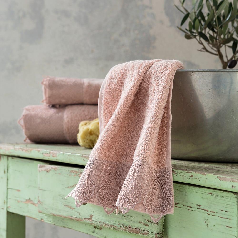 Πετσέτα Amaia Pink Nima Προσώπου 50x90cm