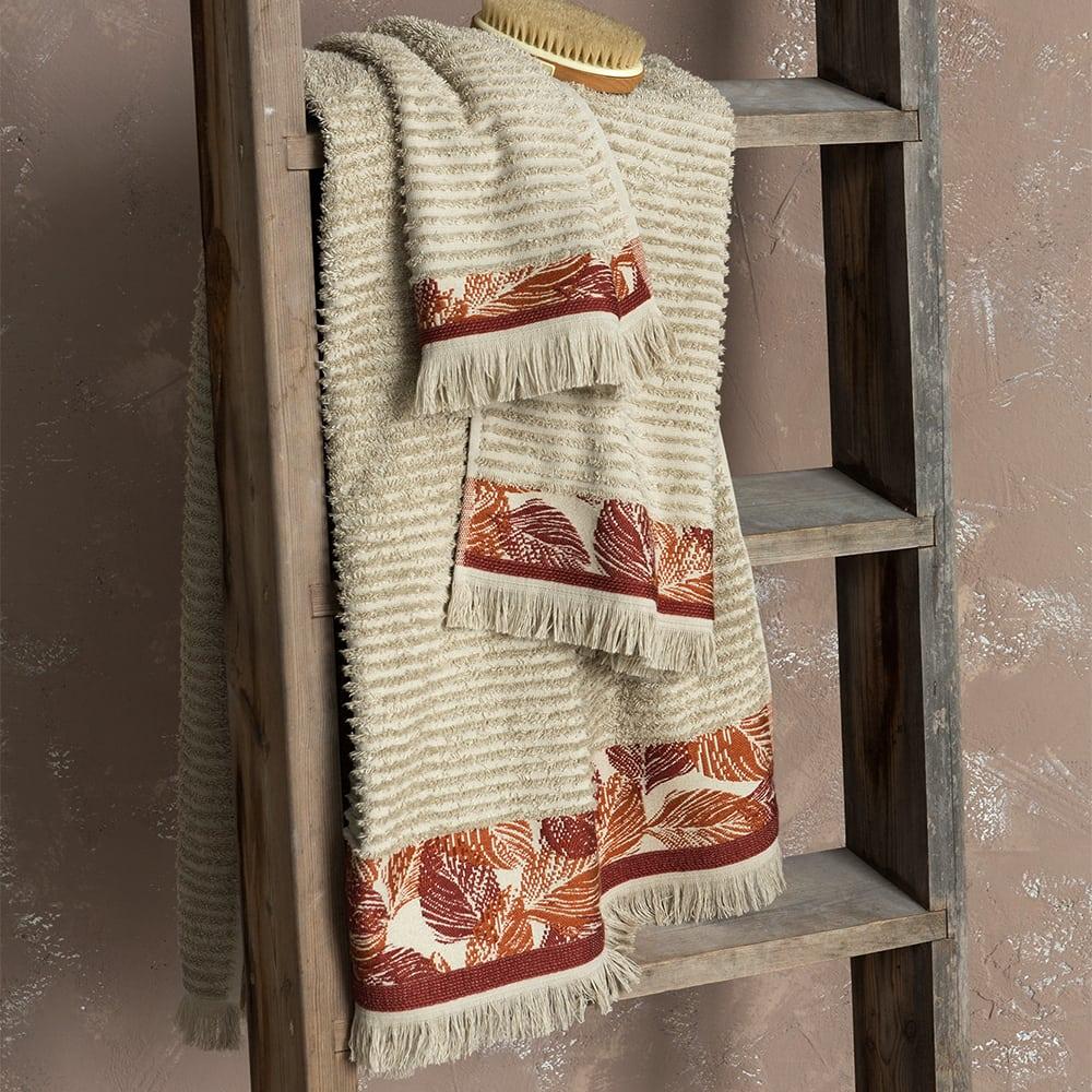Πετσέτα Estelle Beige Nima Χεριών 30x50cm