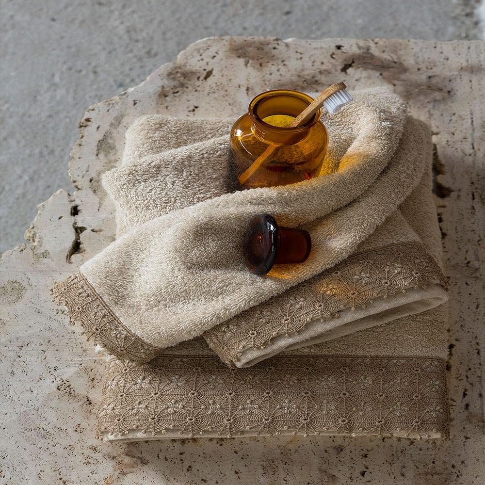 Πετσέτα Ingrid Beige Nima Χεριών 30x50cm