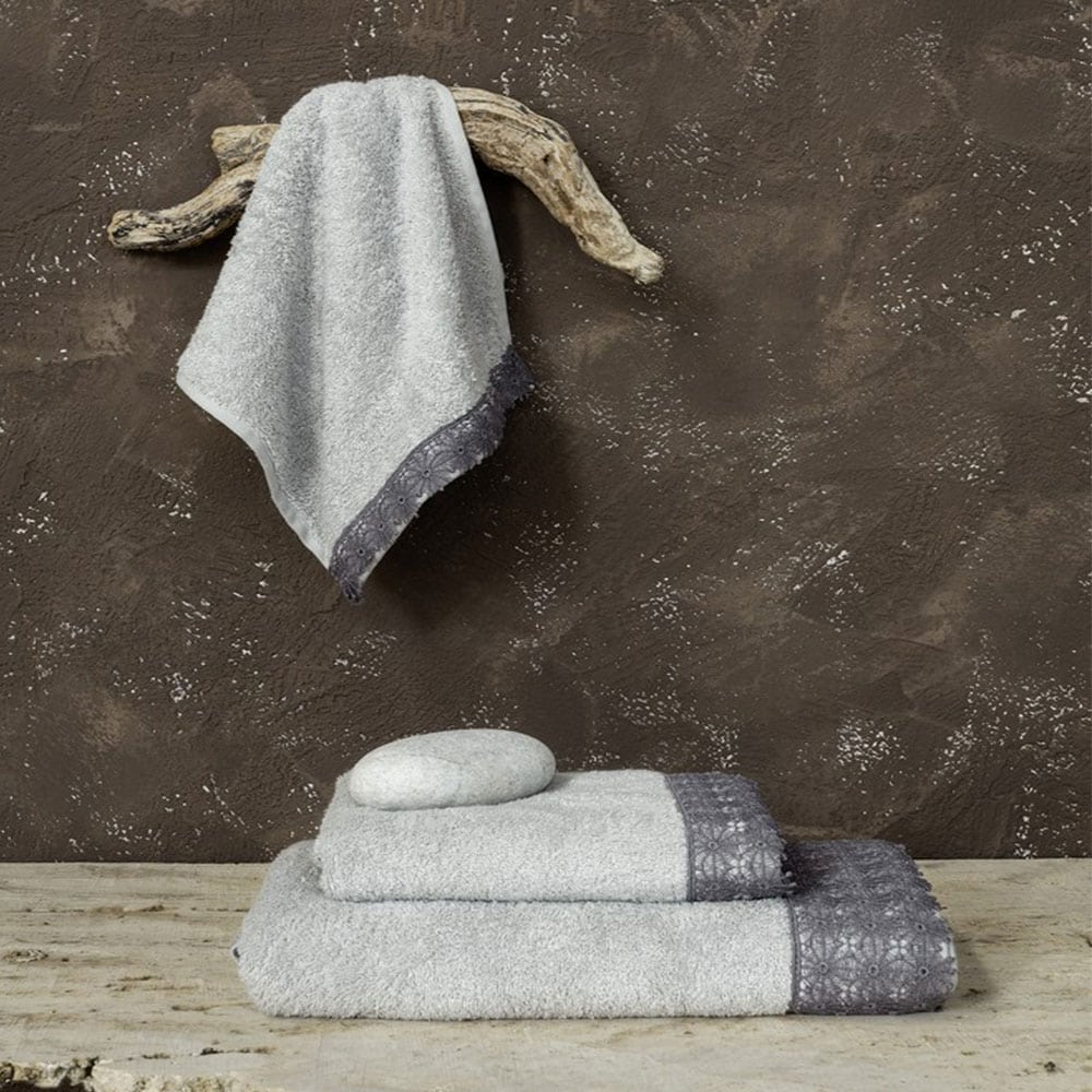 Πετσέτα Ingrid Gray Nima Χεριών 30x50cm