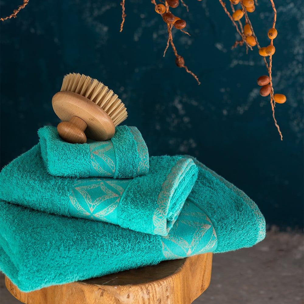 Πετσέτα Leona Emerald Nima Προσώπου 50x90cm