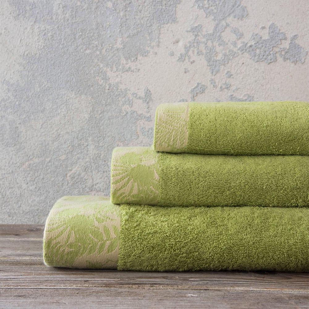 Πετσέτα Nashrin Green Nima Προσώπου 50x90cm