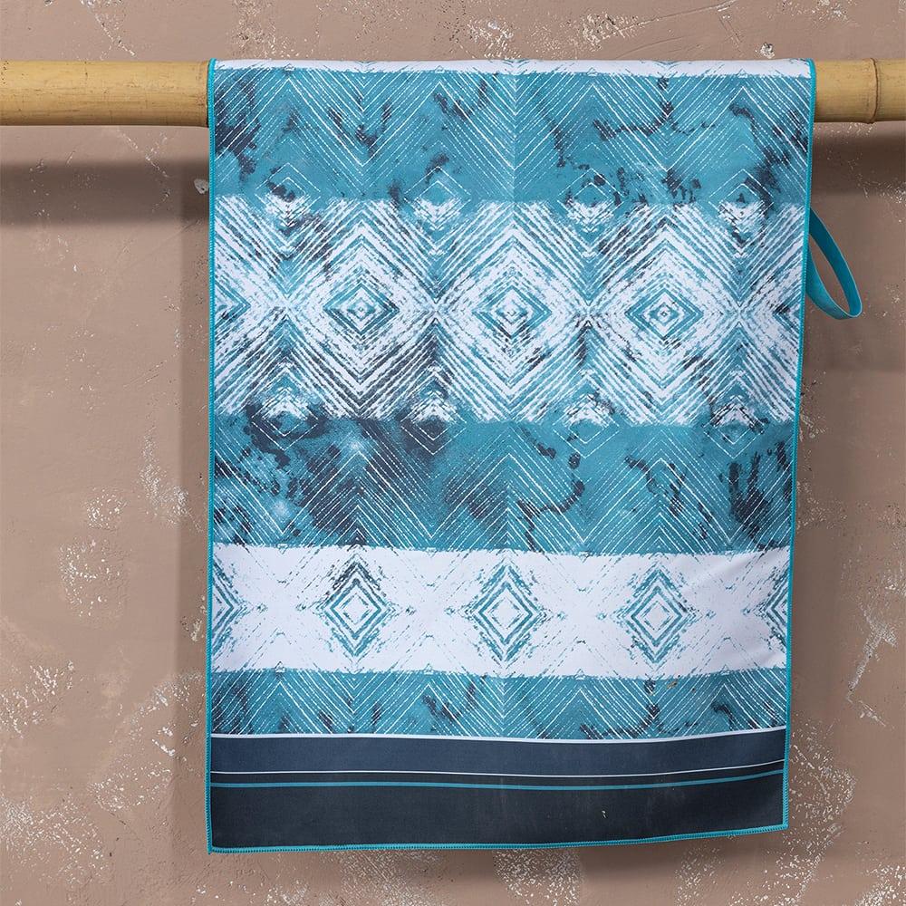 Πετσέτα Γυμναστηρίου Tulum Blue Nima Γυμναστηρίου 50x90cm