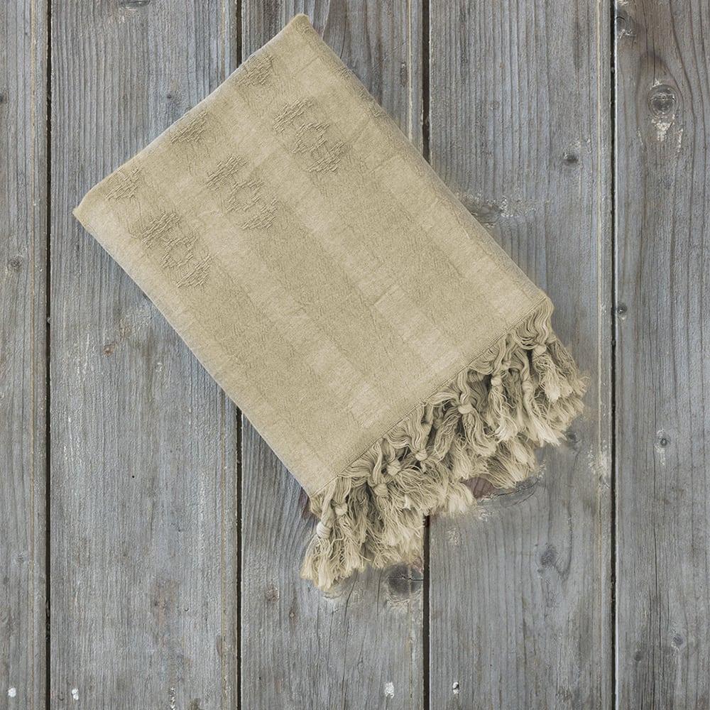 Πετσέτα Θαλάσσης – Παρεό Argos Sand Beige Nima Θαλάσσης