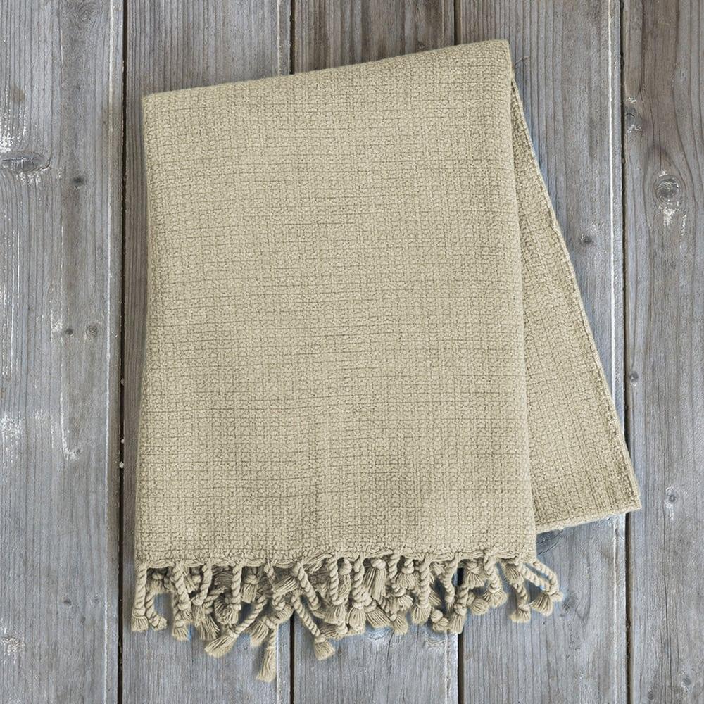 Πετσέτα Θαλάσσης – Παρεό Vira Sand Beige Nima Θαλάσσης