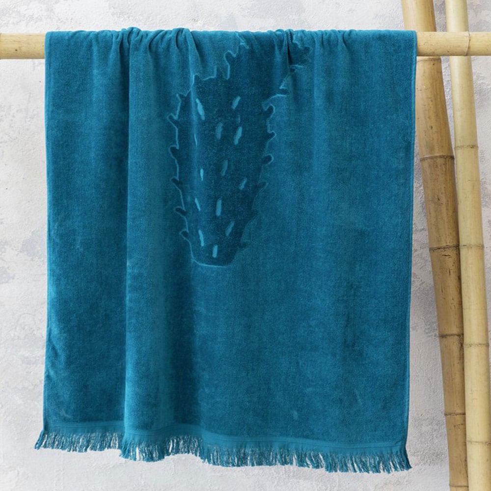 Πετσέτα Θαλάσσης Feral Jacquard Blue Nima Θαλάσσης