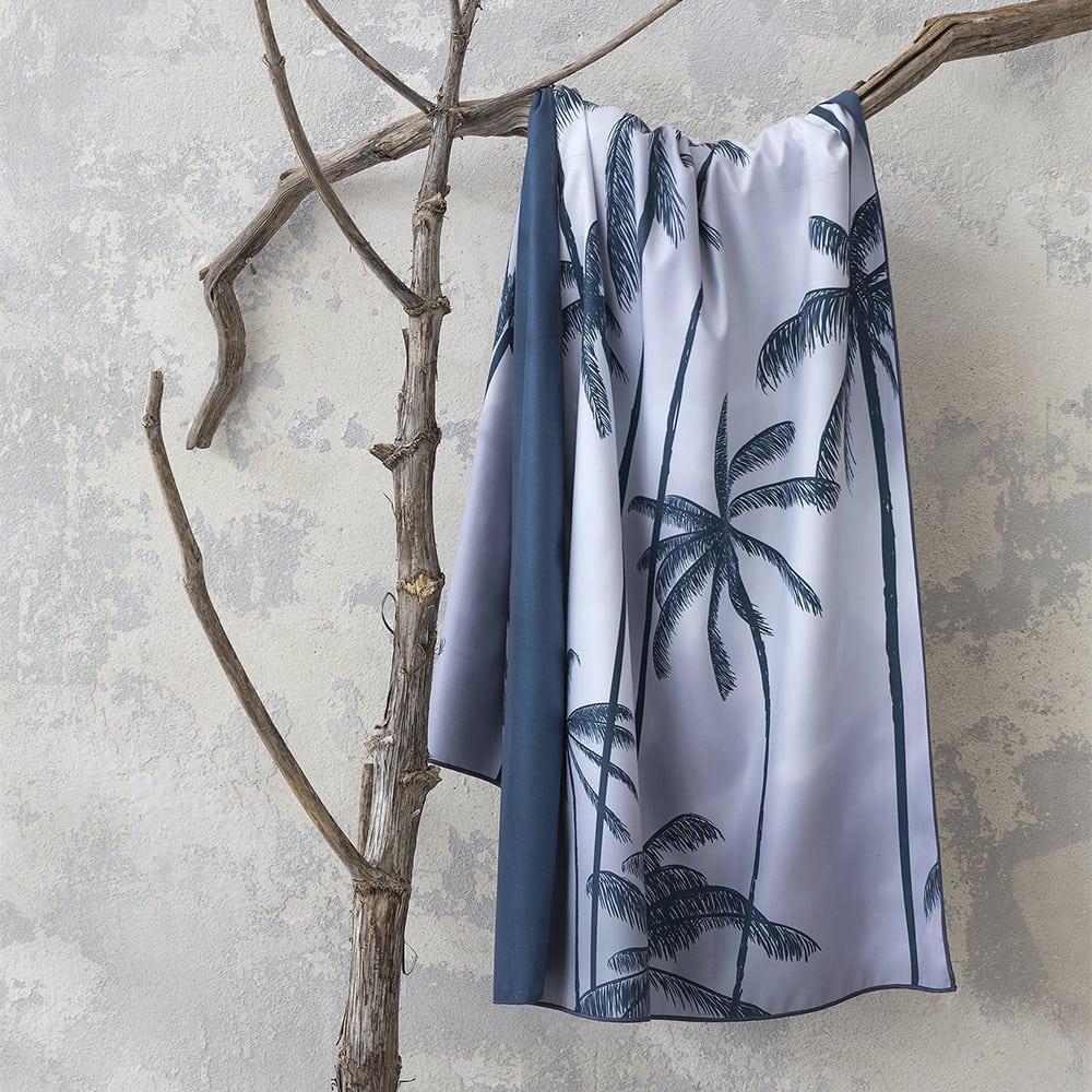 Πετσέτα Θαλάσσης Isla Dark Blue Nima Θαλάσσης