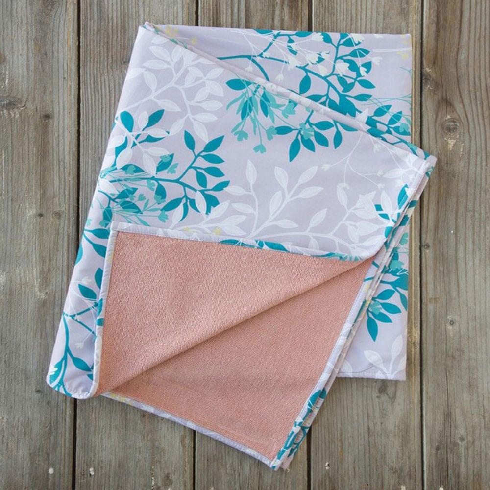 Πετσέτα Θαλάσσης Δύο Όψεων Harmonia Lila-Green Nima Θαλάσσης