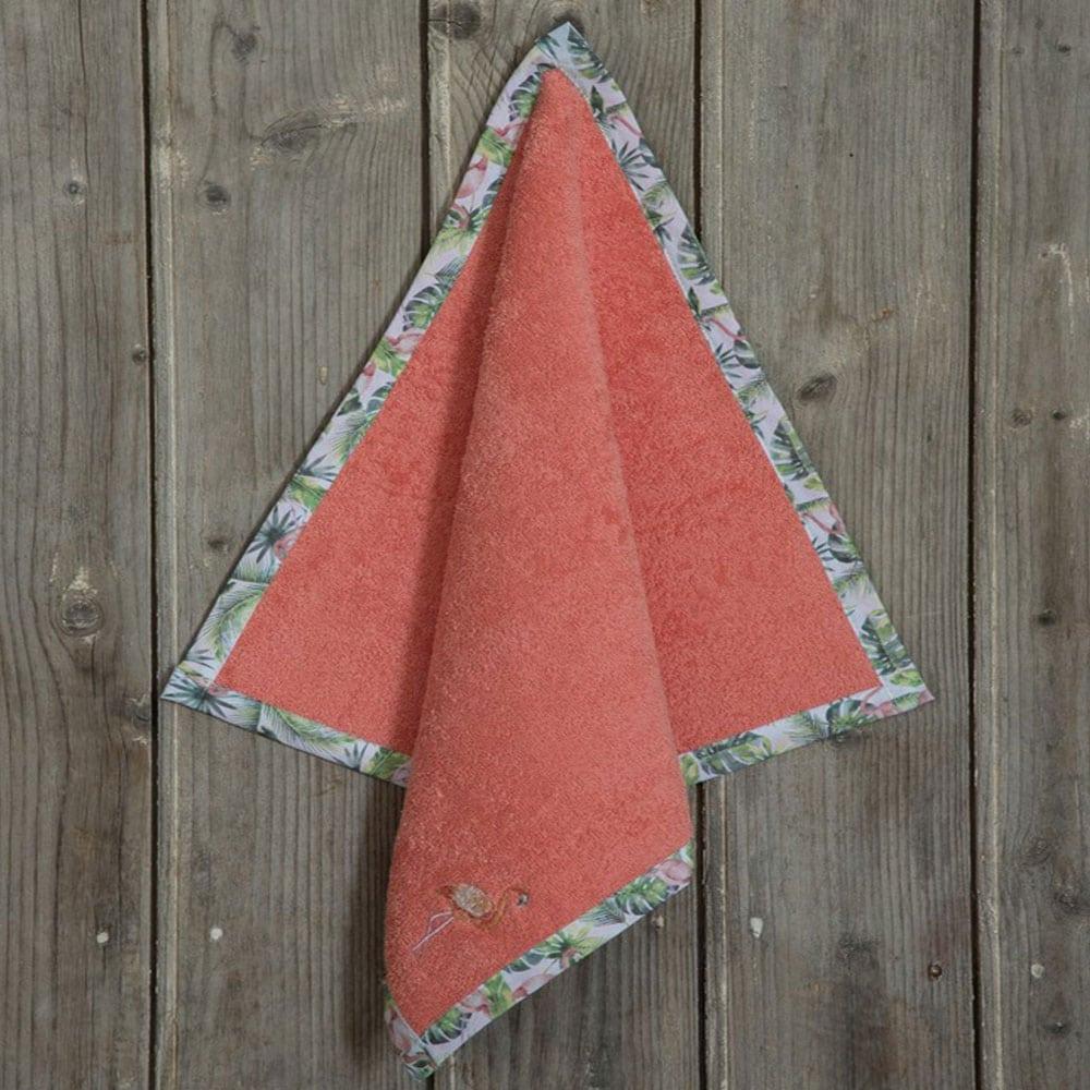 Πετσέτα Κουζίνας Flamingo Coral Nima