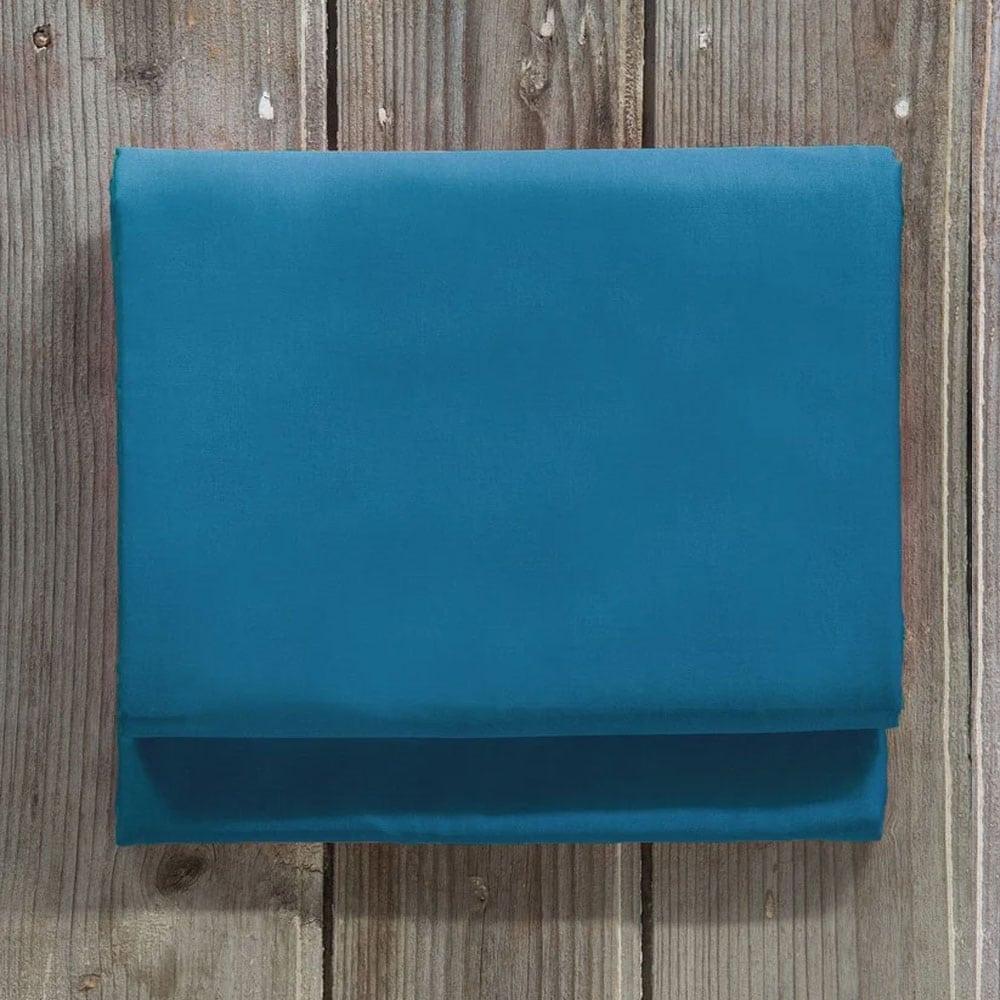 Σεντόνι Unicolors Blue Nima Ημίδιπλο 180x260cm