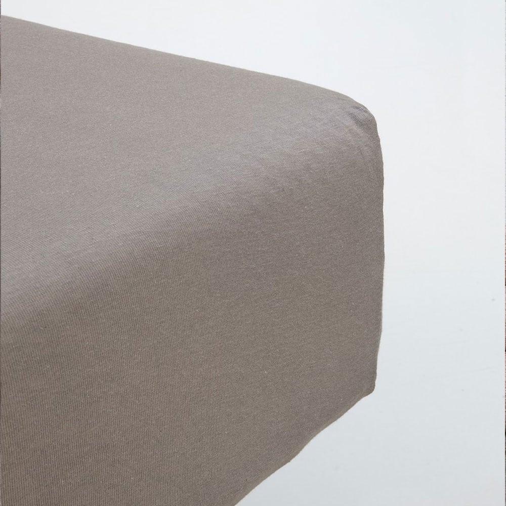 Σεντόνι Με Λάστιχο Naem Charcoal Gray Nima Μονό 100x230cm