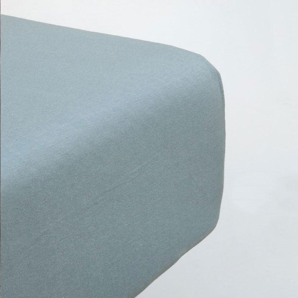 Σεντόνι Με Λάστιχο Naem Dark Blue Nima King Size 180x230cm