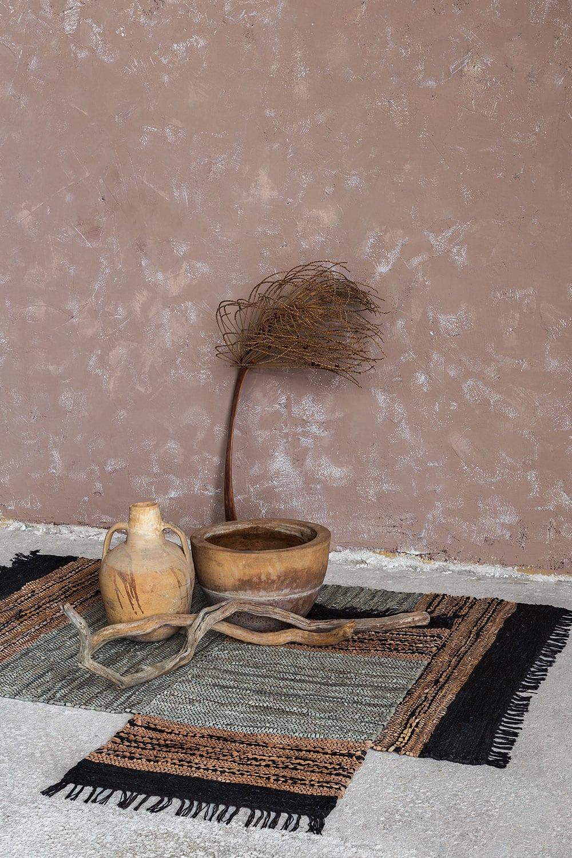 Χαλί Nava Black-Brown Nima 70X150