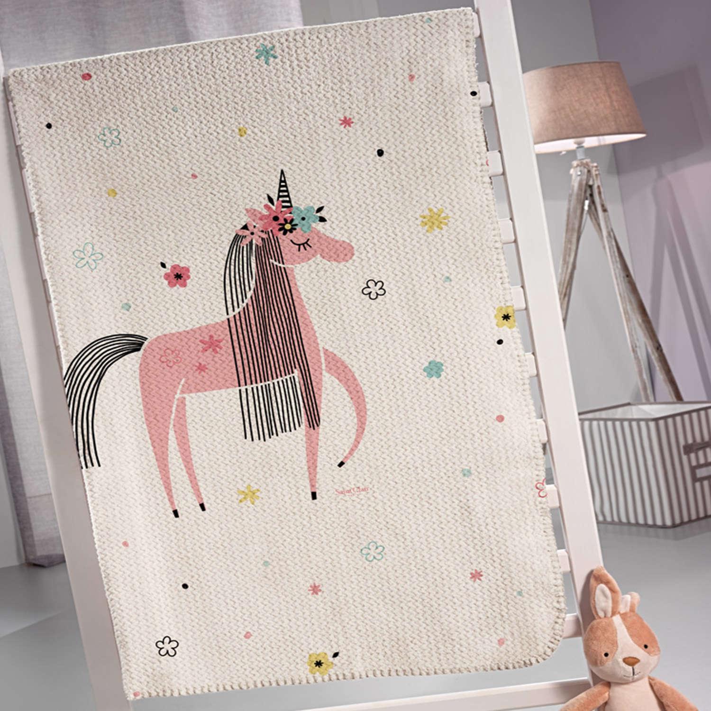 Κουβέρτα Παιδική Unicorn Saint Clair Μονό 160x220cm
