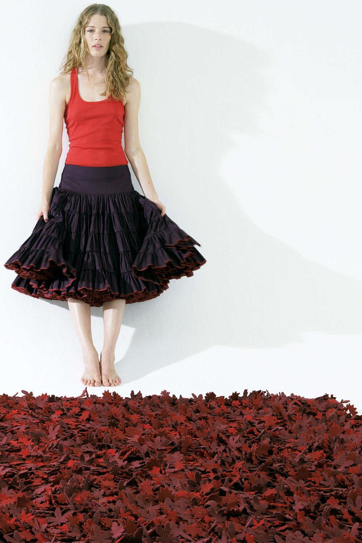 Χαλί Little Field Of Flowers Red Studio Tord Boontje 200X300
