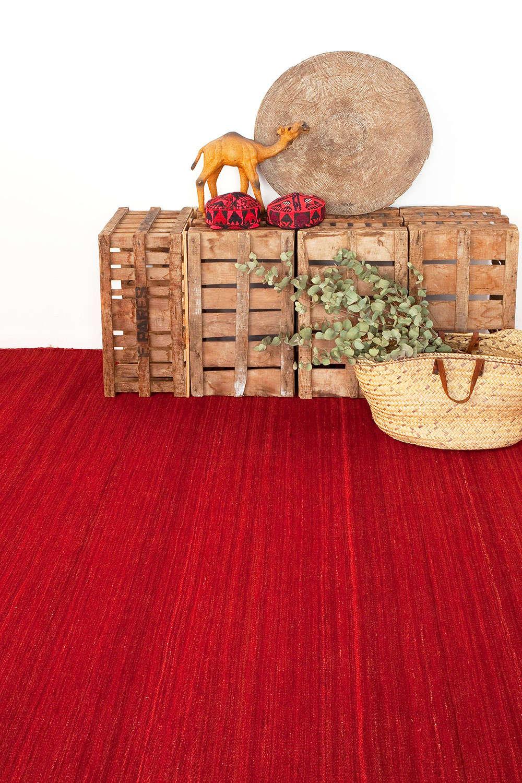 Χαλί Nomad Deep Red Nanimarquina-Ariadna Miquel 200X300