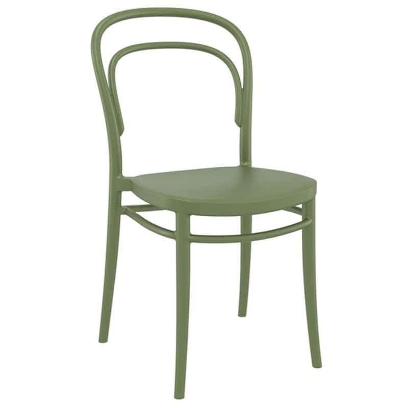 Καρέκλα Marie 20.0049 45X52X85cm Olive Green Siesta