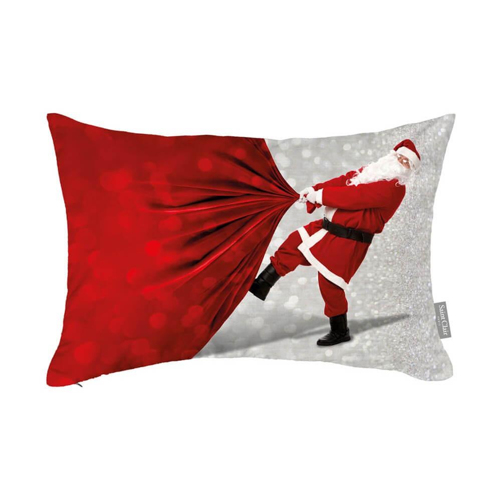 Μαξιλάρι Διακοσμητικό Christmas 4009 Με Γέμιση Saint Clair 30Χ50