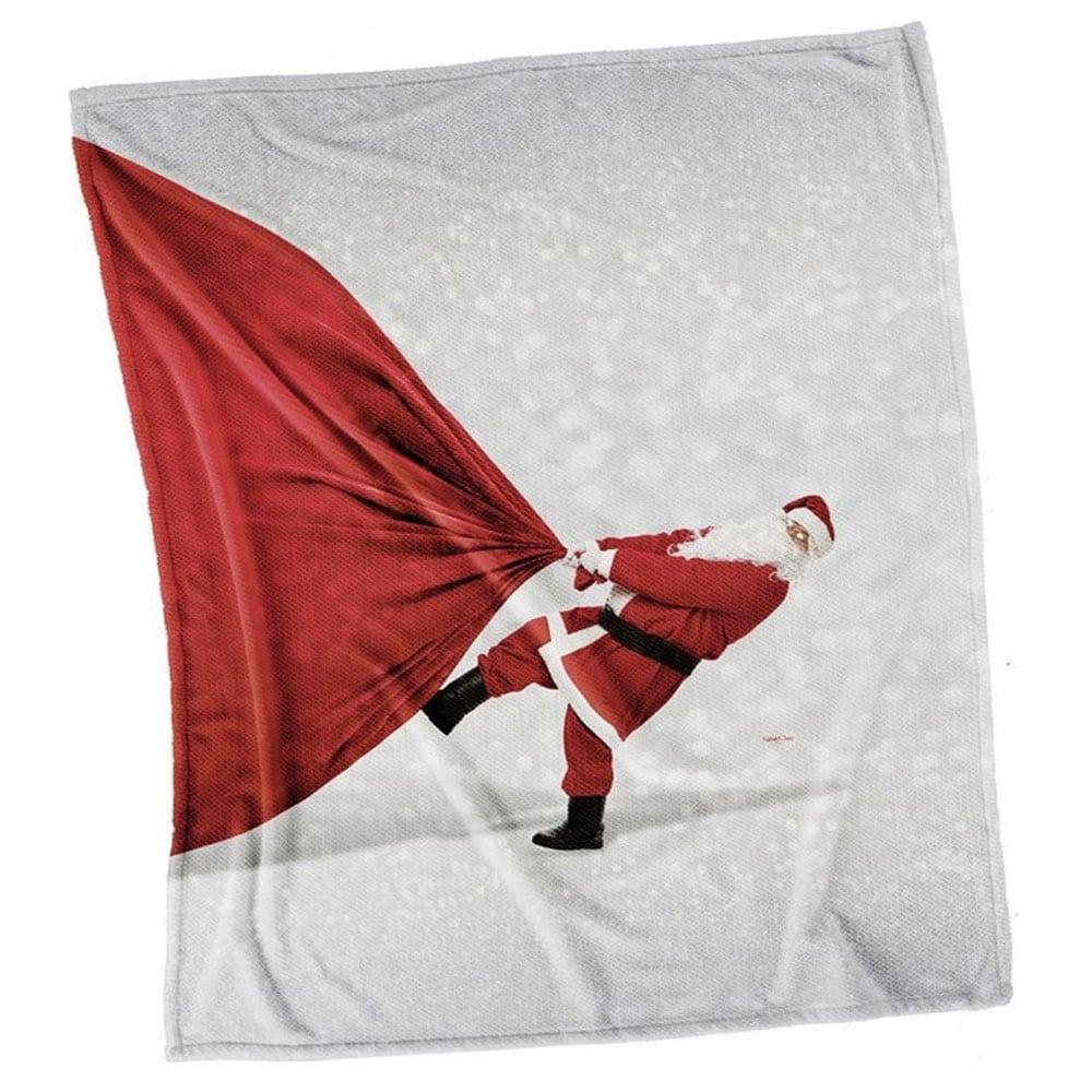 Κουβέρτα Καναπέ Χριστουγεννιάτικη Ultrasoft 5005 Saint Clair 100Χ150 110x140cm
