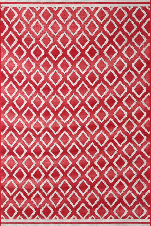 Χαλί Flox 3 Red 160X230
