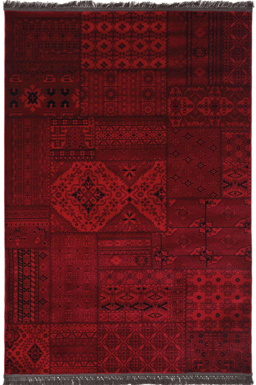 Χαλί Afgan 7675A D.Red 140X200