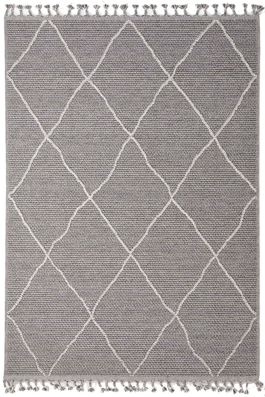 Χαλί Linq 7439A Ivory-D.Grey Royal Carpet 70X150