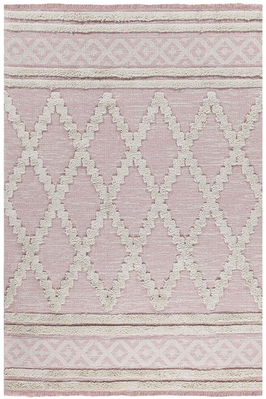 Χαλί Casa Cotton 22297 Pink Royal Carpet 140X200