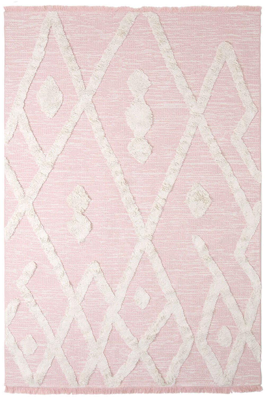 Χαλί Casa Cotton 22327 Pink Royal Carpet 140X200