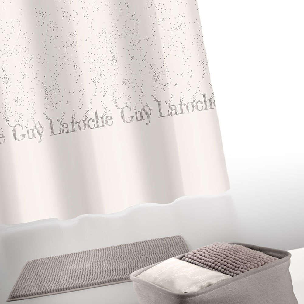 Κουρτίνα Μπάνιου Σετ Glossy Wenge Σετ 4Τεμ. Guy Laroche Φάρδος180cm