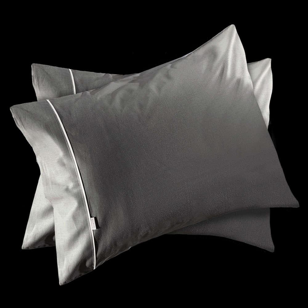 Μαξιλαροθήκες Σετ Reserve Titanium 2Τμχ. Guy Laroche 55X75 52x72cm