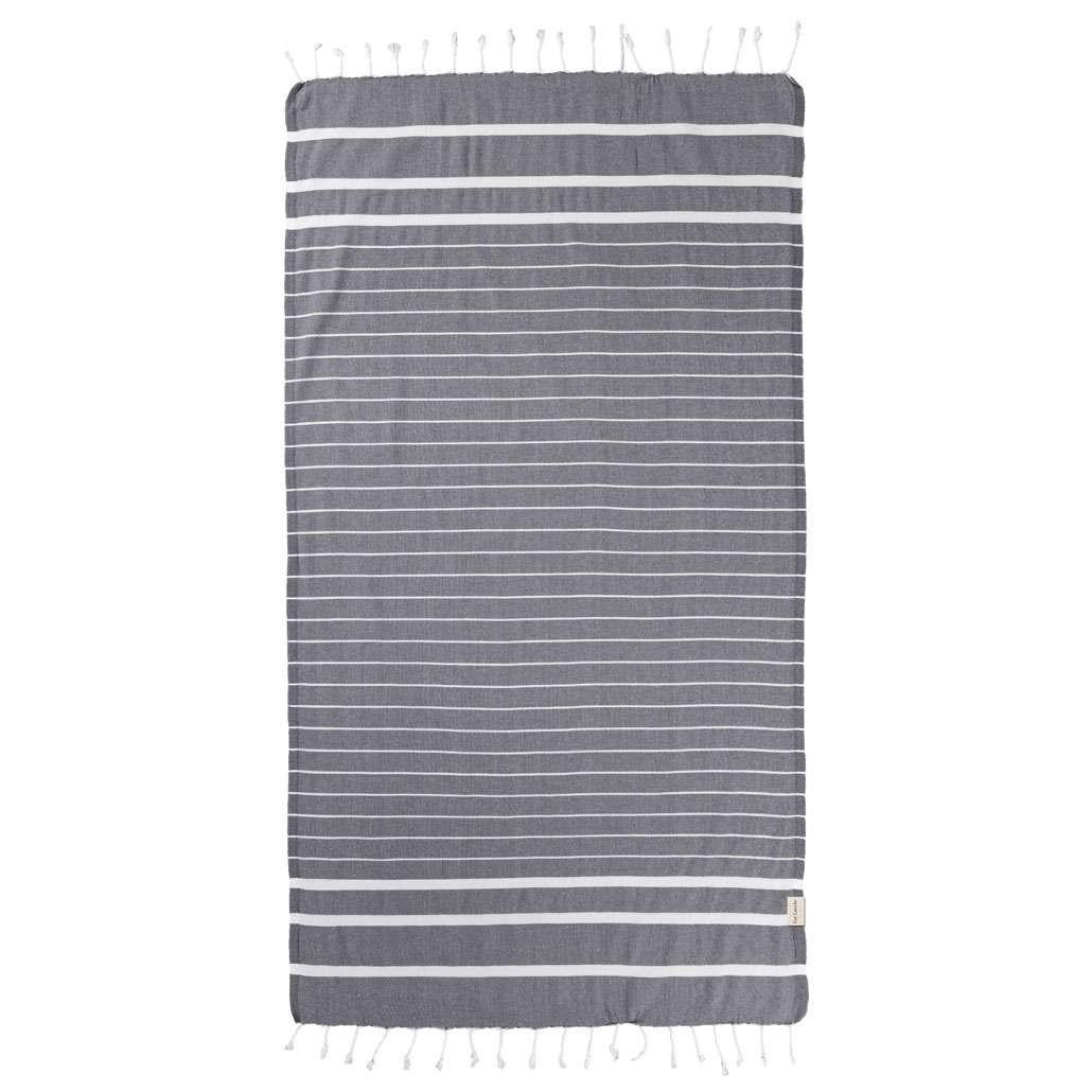 Πετσέτα Θαλάσσης-Παρεό Pestemal 10 Anthracite Guy Laroche Θαλάσσης 90x170cm