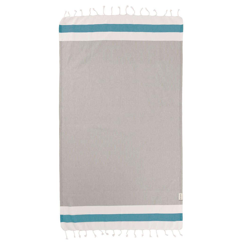 Πετσέτα Θαλάσσης-Παρεό Pestemal 11 Beige Guy Laroche Θαλάσσης 90x170cm