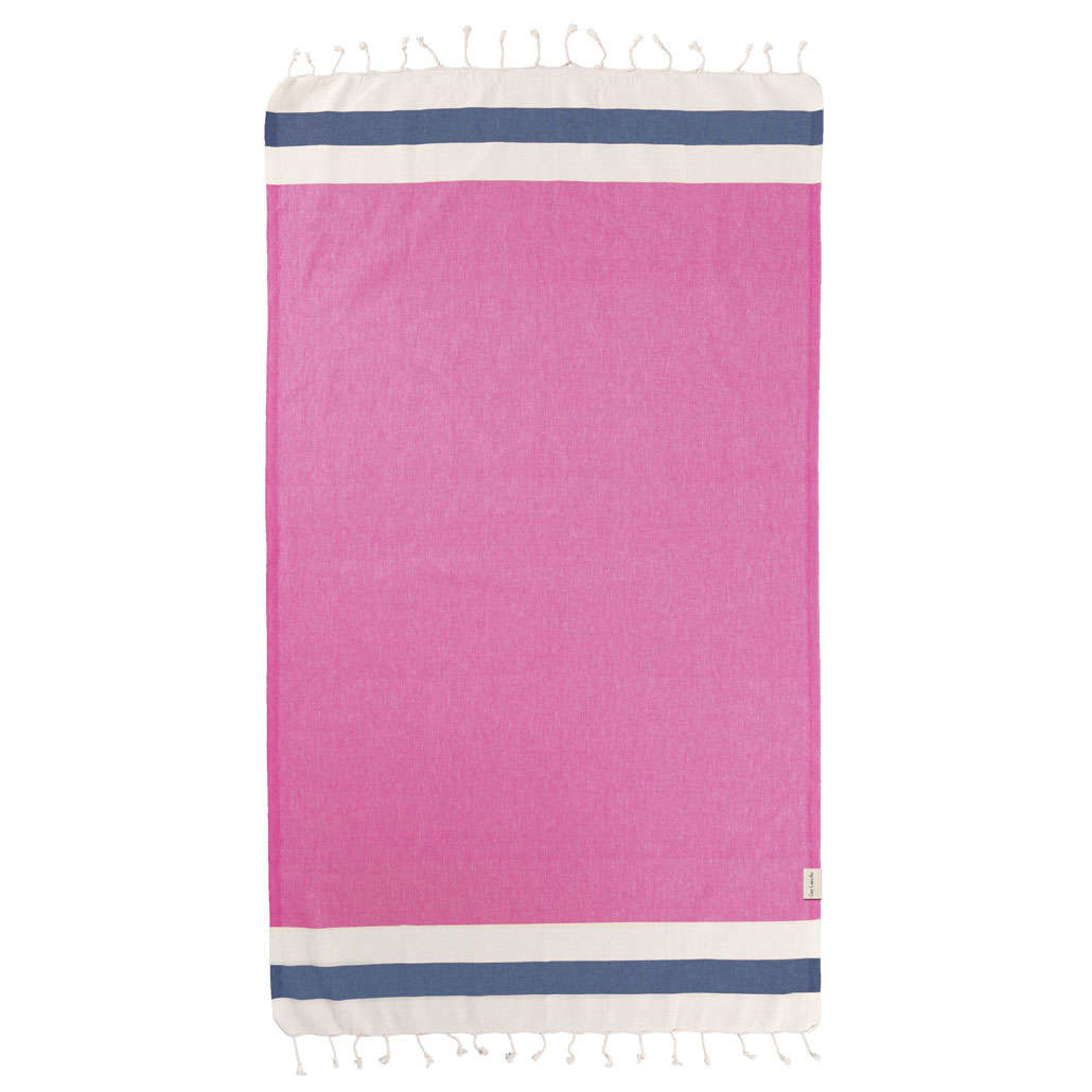 Πετσέτα Θαλάσσης Pestemal 11 Pink Guy Laroche Θαλάσσης 90x170cm